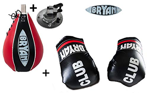 Boxen Set Boxhandschuhe + Boxbirne + Swivel Halterung Speedball Punchingball