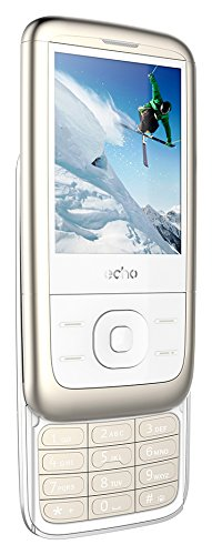 ECHO SLIDET Smartphone Slide Dual SIM, 6,09 cm (2,4 Zoll), 32MB, 0.3MP Kamera, Android Titan
