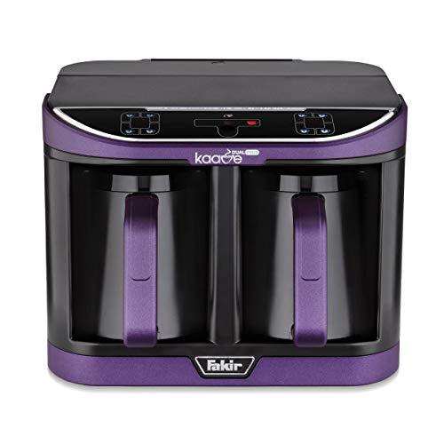 Fakir Kaave Dual Pro Hochwertige Moderne Türkische Mokka Maschine Kaffeemaschine, Violet