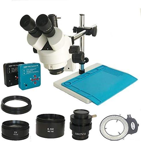 BINGFANG-W Microscopes 3.5X-90X Simul Stereo Trinocular Max 61% OFF Nippon regular agency Mi Focal