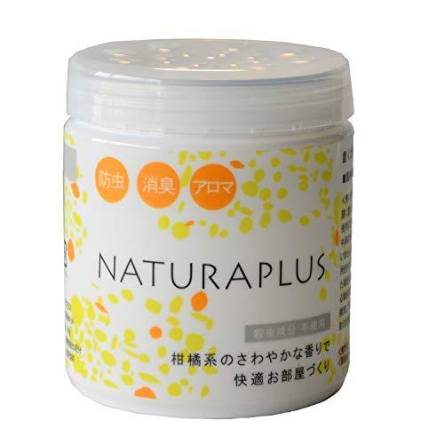 ナチュラプラス(NATURAPLUS) アロマ消臭ポット 40g 虫よけ 置き型 虫除け 部屋 部屋用 室内 玄関 天然ハーブ