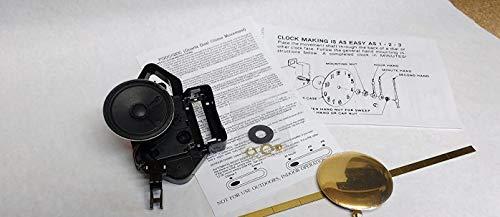 Seiko 4/4 Westminster & Whittington Chime Movement - Pendulum Movement - Clock Repair Parts Kit (Short Shaft)
