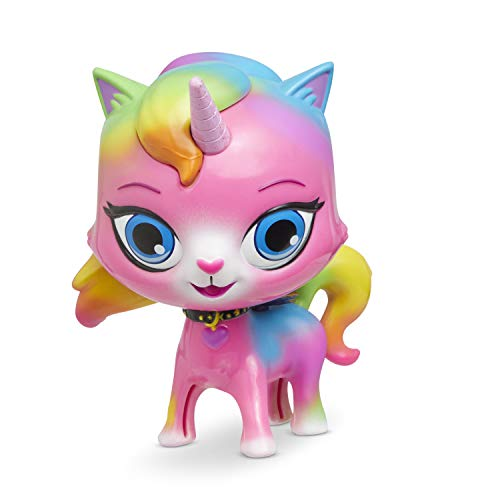 Rainbow Butterfly Unicorn Kitty Groovin Heads Unicorn Bobble Head Toy, Multicolored, 40138