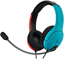 PDP Gaming LVL40 Wired Stereo Headset with Noise Cancelling Microphone: Nintendo Switch