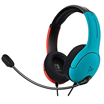 PDP Gaming LVL40 Wired Stereo Headset with Noise Cancelling Microphone  Nintendo Switch