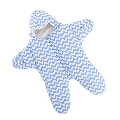 Detective Dizzy Estrella de mar lindo bebé saco de dormir para 0-1 año (Gris)