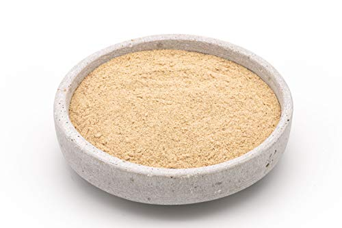 Cáscara de Psyllium Rubio en polvo BIO 1 kg harina, ecológico calidad superior 99%+ puras, orgánico, crudo 1000g