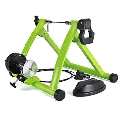 Bicicletta Rullo Rullo Bicicletta Rullo Allenamento Elite 26-28 Roller Bike Training Allenatore Bici Stazione Fitness Allenatore Bici Rulli Allenatore Ciclismo Allenamento A Casa Esercizio Indoor-Verd