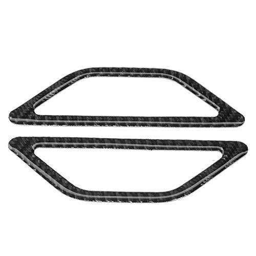 Caiqinlen Cubierta de Salida de Aire del Tablero, embellecedor de ventilación de Aire Autoadhesivo Tablero, sin Perforaciones para 86 2013-2020 Subaru BRZ 2013-2020