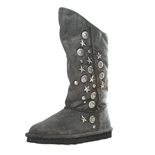 Replay RF010018S Damen Winter Yeti Boots Stiefeletten Stiefel Schuhe 36 EU, Schwarz