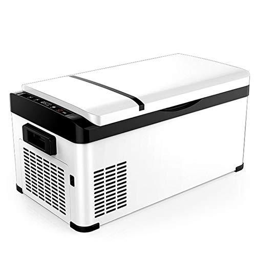 GAOXIAOMEI Refrigerador Portátil De 27-Cuartos para Mini Nevera, 12 / 24V DC 220V AC, Congelador Portátil, para Camión, Camioneta, Viaje por Carretera En Autocaravana, Camping, Picnic, Barbacoa