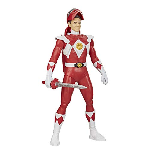 Power Rangers Mighty Morphin Power Rangers Red Ranger Morphin Hero 12-inch Action Figure Toy with Accessory, Inspired by The Power Rangers TV Show