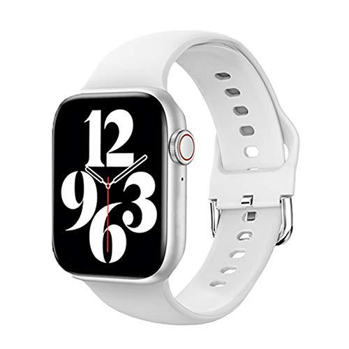 ZGLXZ T800 Smart Watch 2021 Mujer Mujer Bluetooth Call Call Completo Toque DIY Reloj DE Reloj DE LA PULSER LA Pulsera 6 Adecuada para iOS Android Bluetooth Llamada,B
