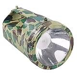 Qshape, linterna LED para exteriores de carga de mano de acampada nocturna y pesca de largo alcance, linterna de aventura