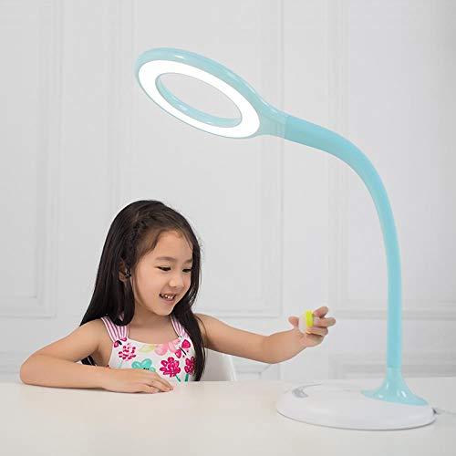 fghrgh Veilleuse LED,Lampe Lampe De Bureau De Protection des Yeux Étudiant Lecture Et Écriture Lampe De Bureau De Lecture De Chevet A613