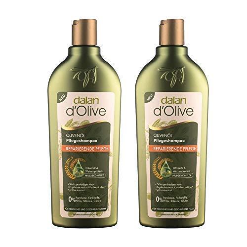 Dalan d'Olive Olivenöl Pflegeshampoo Reparierende Pflege 2er Pack (2 x 400 ml)