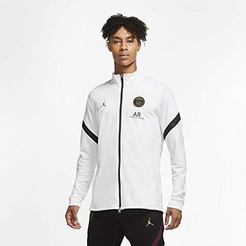 Nike PSG Paris Saint Germain Felpa Jordan Allenamento Full Zip 2020-21 (M)