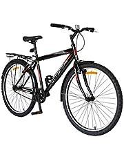 Spartan Commuter MTB Bicycle, Black, 26 inch