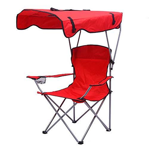Silla de Camping con Taza de Taza para niños Plegables para Adultos sillas de Camping de diseño de Sombra de aleación de Aluminio Resistente para Camping Picnic
