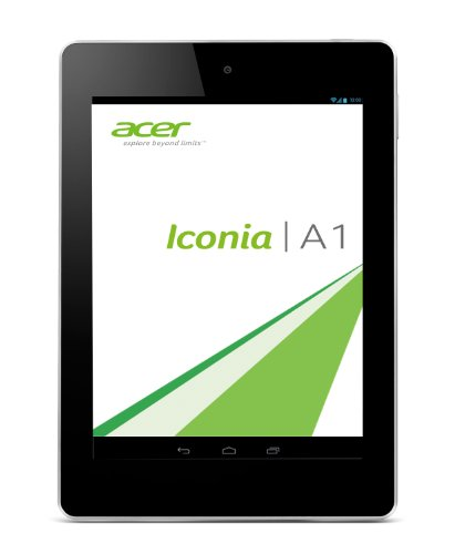 Acer Iconia A1-810 20 cm (7,9 Zoll mit IPS Technologie) Tablet-PC (QuadCore Prozessor 1,2GHz, 1GB RAM, 16GB eMMC, 5MP Kamera,  Android 4.2) weiß