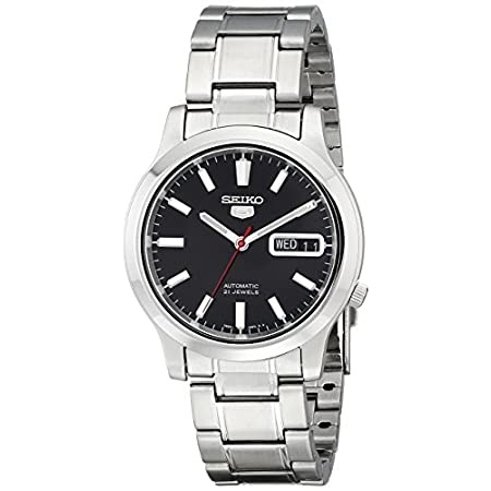 Fashion Shopping Seiko Men's SNK795 Seiko 5 Automatic Stainless Steel Watch with Black Dial