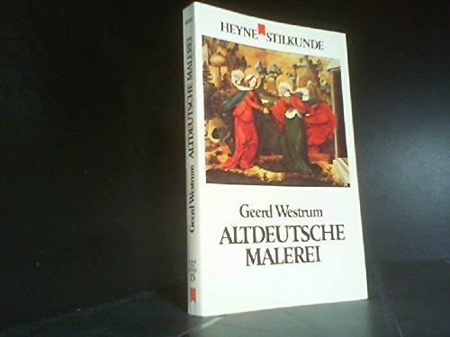 Altdeutsche Malerei (Stilkunde, 15).