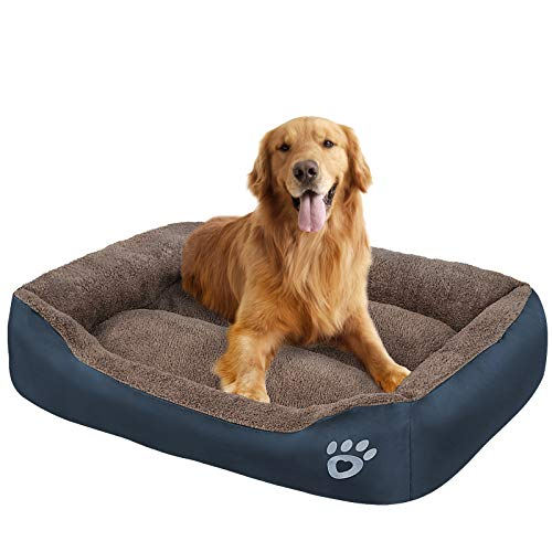 OQQ Pet Dog Bed | Therapeutic Sofa-Style Traditional Living Room Comfy Pet Bed/Removable Cover for Dogs & Cats