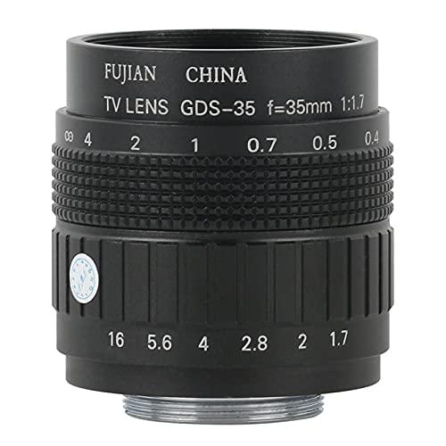 Grande Vista Alta Distanza di Lavoro 35mm Obiettivo di Messa a Fuoco Fisso CCTV CS C. Montaggio dell'obiettivo Manual Zoom Lens foamer Video microscopio Industriale