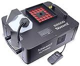 Beamz S2000LED Machine à fumée professionnelle avec 24x LED RBG • 2000W • LED de 3W • Réservoir 2.5L • Important débit de fumée 530m3/min • Télécommande • DMX • Idéal pour tout type d'évènement