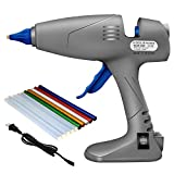KoolShare HOT GLUE GUN Full Size Dual Power 80/120W Base Stand Detachable Wire Heavy Duty Industrial for DIY/Home Repairs/Crafts Christmas Decoration/Gifts