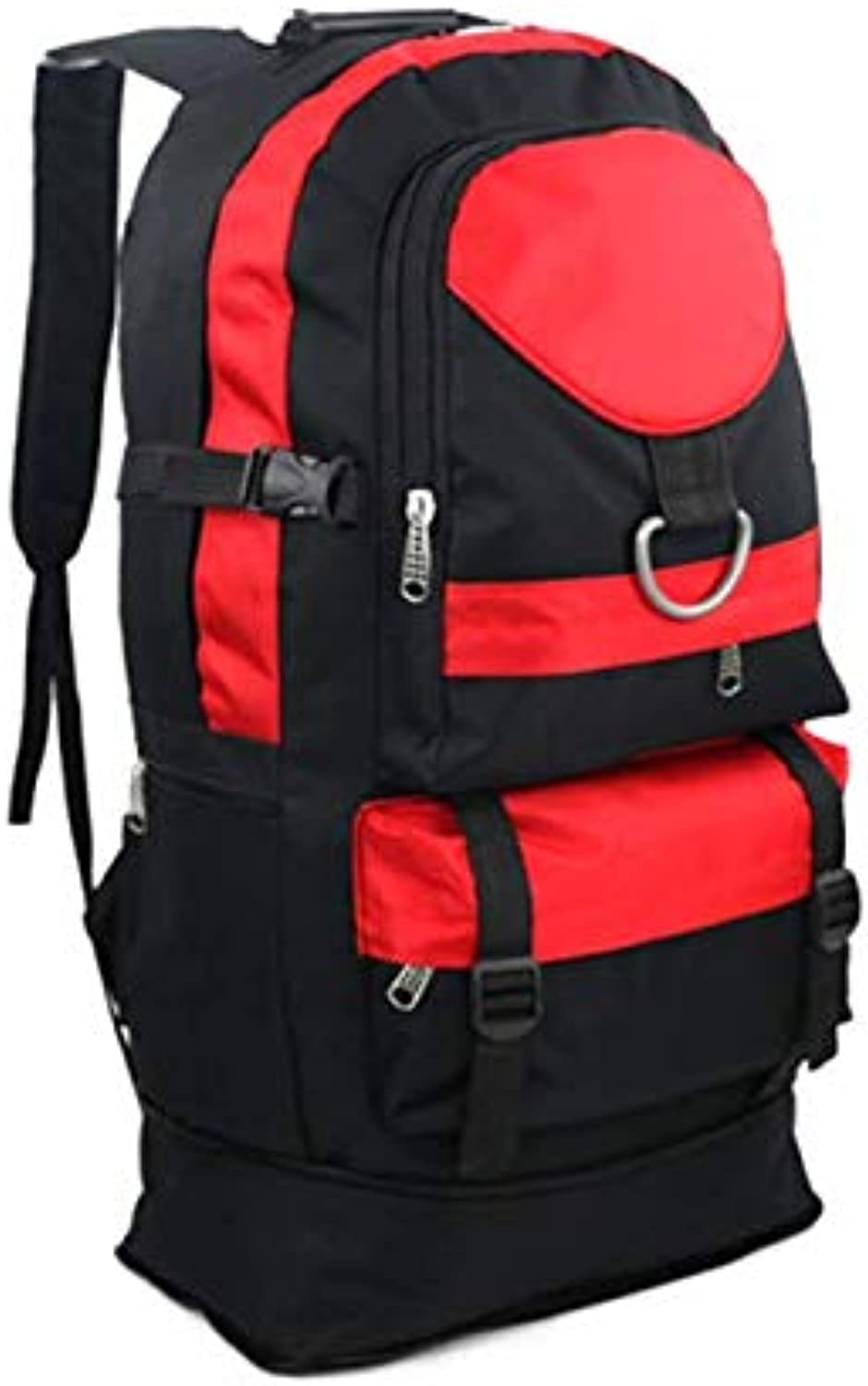 Hiking Backpack Waterproof and Wearable 60L Large Capacity Outdoor Mountaineering Camping Riding Activity