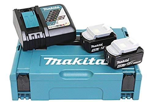 Makita Power Source Kit 197494-9 (2x Akku, 1x Schnellladegerät)