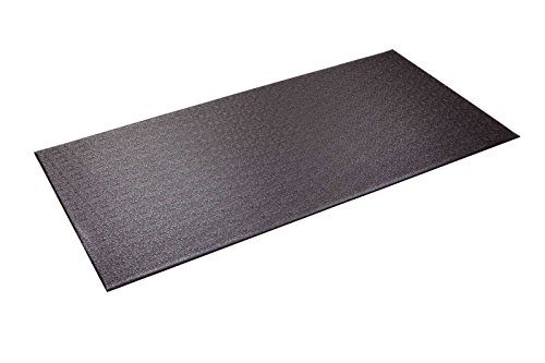 Supermats Heavy Duty Equipment Mat 13GS Made in U.S.A. for Indoor Cycles Recumbent Bikes Upright Exercise Bikes and Steppers (2.5 Feet x 5 Feet) (30-Inch x 60-Inch) (76.2 cm x 152.4 cm) , Black