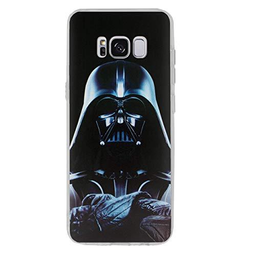 Star Wars Handy Hülle/Hülle für Samsung Galaxy S8 (G950) mit Bildschirmschutzfolie / Silikon Weiches Gel/TPU / iCHOOSE / Darth Vader