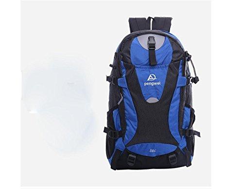 XIE@ All'aperto alpinismo borsa 38L sport uomini e donne escursionismo zaino , blue