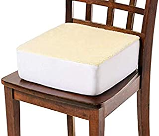 Care Active Rise with Ease Seat Cushion - Extra Thick Foam Chair Cushion - Thick Firm Chair Cushion - Cushion for Lift Chair - Extra Supportive Lift - 15.5 X 18 X 5 (Sherpa Cream) by Comfort Finds