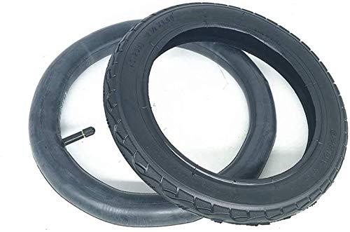 HYCy Neumáticos De Scooter Eléctrico,12 Pulgadas Antideslizante Interior Y Exterior Llantas,Adecuado para 12 1/2 X 1.5 (40-203) Reemplazo De Llanta Trasera para Silla De Ruedas Eléctrica
