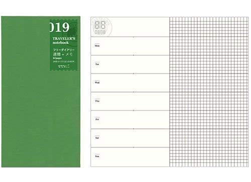 Midori Traveler's Notebook -Standard Size (Refill 019)