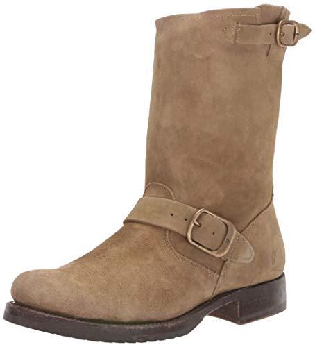 Frye Women's Veronica Short Mid Calf Boot, Sage, 8 Medium US