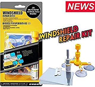 DIY Car Windshield Glass Scratch Kits Repair Tools Windscreen Crack Restore Window