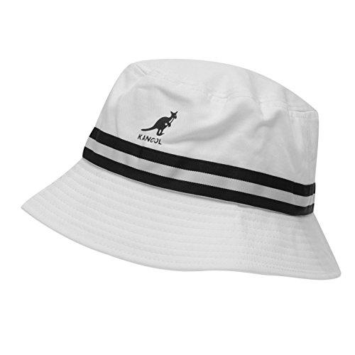 Kangol - Sombrero Rayas Hombre Bianco Large