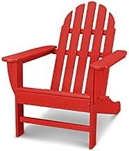 POLYWOOD Classic Adirondack Adirondack Chair, Sunset Red