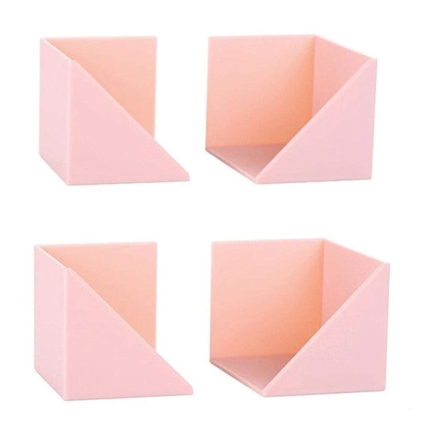火曜日人種分配します完璧な料理 2セットの北欧スタイル壁掛け装飾ストレージラックバスルーム棚キッチン棚ストレージは壁の装飾ストレージラック エレガントでスタイリッシ (Color : Pink)