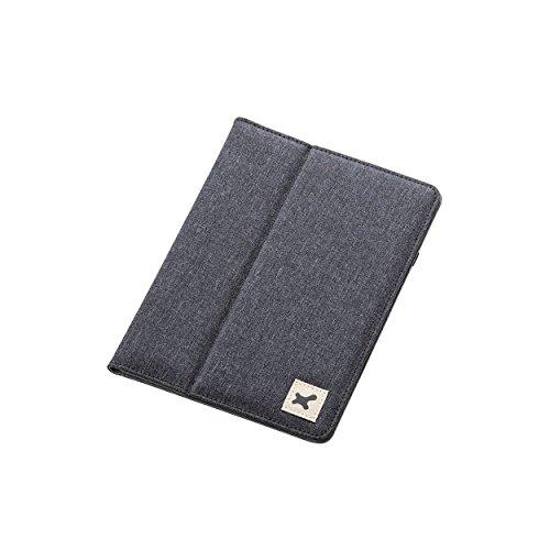 エレコム タブレットケース タブレット収納ケース タブレット ケース 7~8.4インチ ファブリック生地 スタンド機能付 ブラック TB-08FCHBK