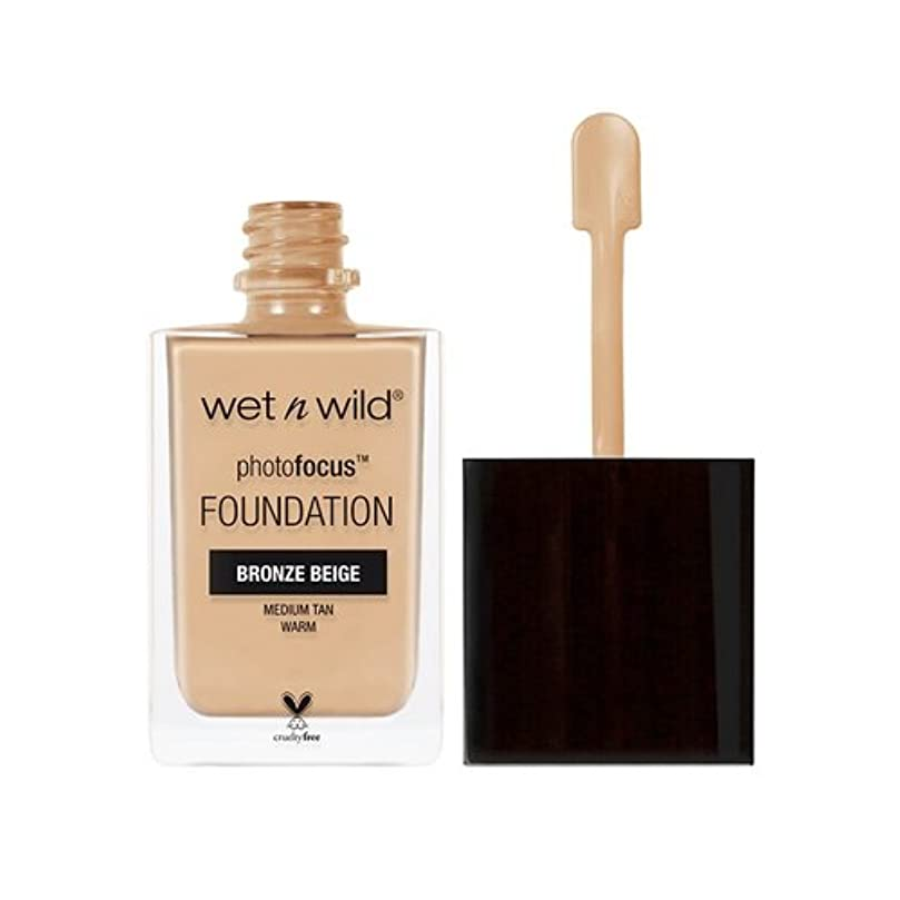 である神聖額(6 Pack) WET N WILD Photo Focus Foundation - Bronze Beige (並行輸入品)