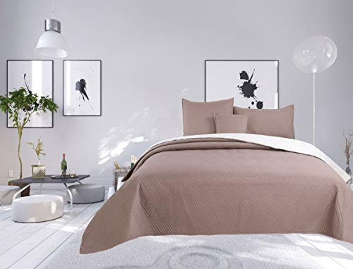 80/% Coton 180 20/% Polyester MI CASA 280X270 Couvre-lit en Bambou