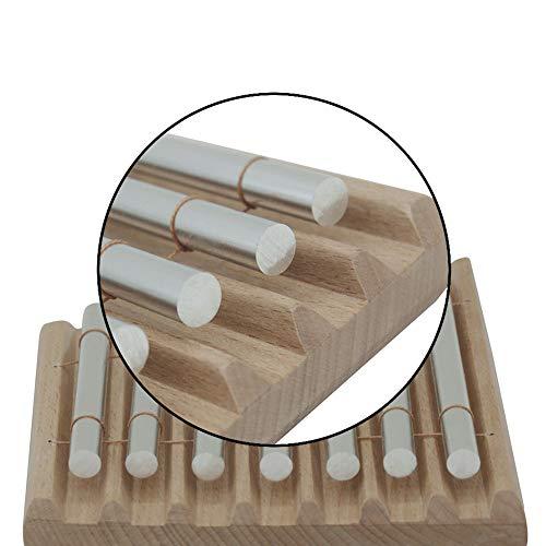 NUYI-2 Percussion Windspiele monophone siebenklingige Telefonwindspiele Percussion-Klangrohr Siebenfarben-Windspiele