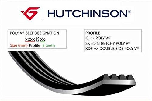 HUTCHINSON 780 K 6 Courroie Poly-V