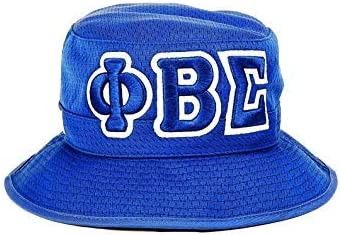 Excellent Phi Beta Sigma Columbus Mall Fraternity Mens Hat Bucket Blue