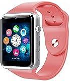 Orologio da Uomo Digitale per Sport all'Aria Aperta Bluetooth Orologio da Calendario con Calendario cronografo Impermeabile e Leggero (Colore: Rosa)